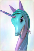 Fairytale Unicorn for DAZ Studio