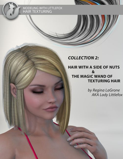 Modeling with Littlefox: Hair Collection