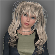Anime Ponytail Hair V4,Dawn,M4 and Gen2
