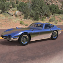 Toyota 2000 GT (for 3D Studio Max)