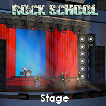 Rock School Stage