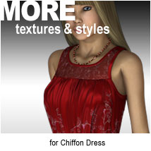 MORE Textures & Styles for Chiffon Dress