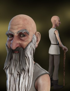 Old Man Rex for Genesis Character