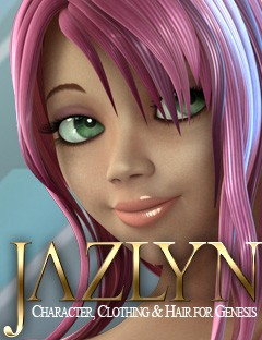 Jazlyn for Genesis Character and Hair