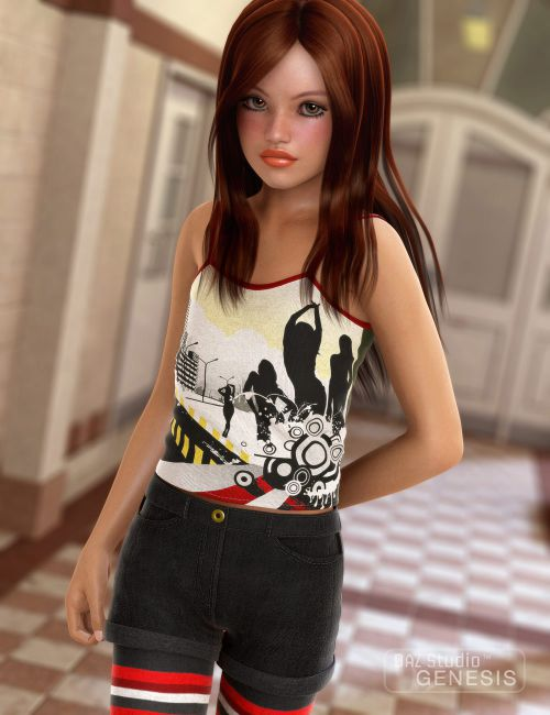 Children For Daz Studio And Poser