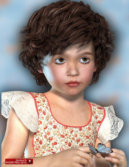 Jade for The Kids 4 | Children for Daz Studio and Poser