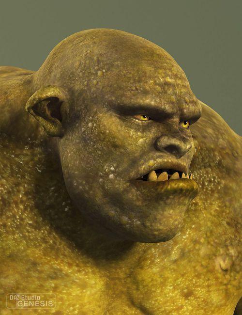 daz monstrosities skullcrusher ogre creatures for daz