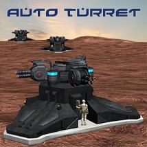 SciFi Auto Turret