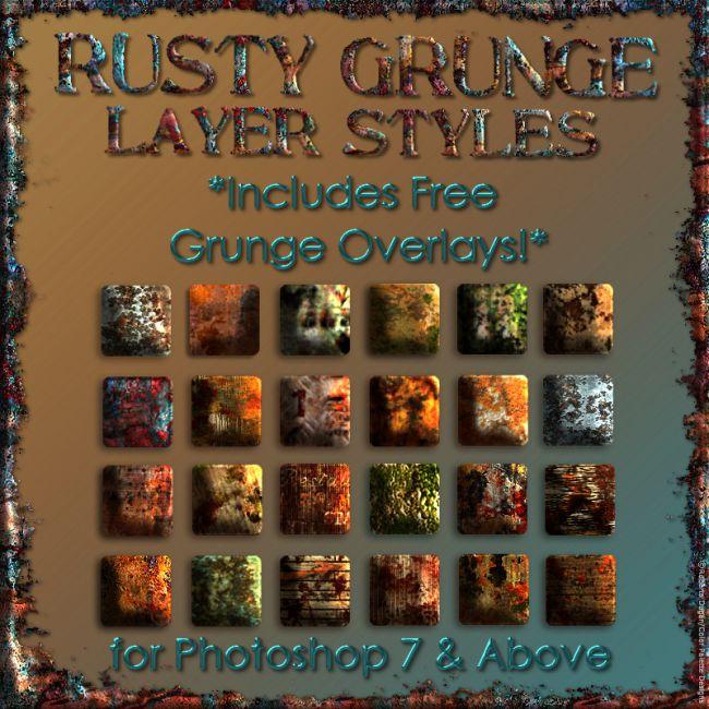 Rusty Grunge Styles w/Free Gift