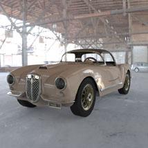 Lancia Aurelia B24 Spider (for 3D Studio Max)