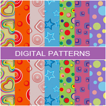 Digital Patterns- Retro