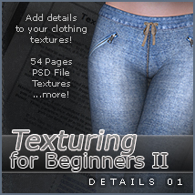 SV Texturing for Beginners II - Details 01