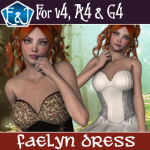 Faelyn Dress For V4 A4 And G4