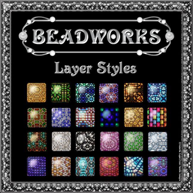 BEADWORKS Layer Styles