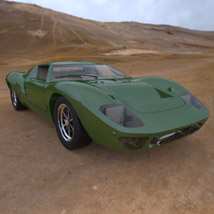 Ford GT40 (for 3D Studio Max)