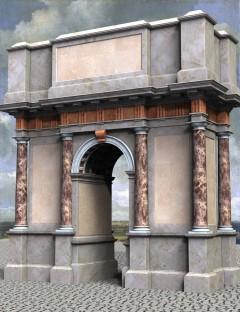 Roman Doric Triumphal Arch