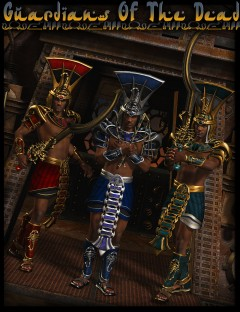 Guardians of the Dead for Scorpion God