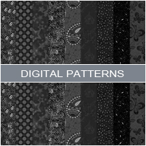 Digital Patterns- Black