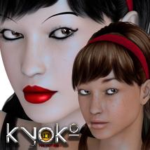 Kyoko Triple Character for V4