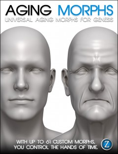 Aging Morphs For Genesis
