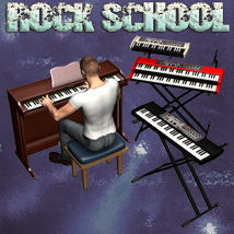 Rock School KeyBoards