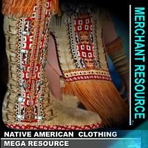 Native-American Clothing- Mega Resource