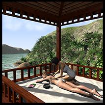 Tropical island, Thai massage