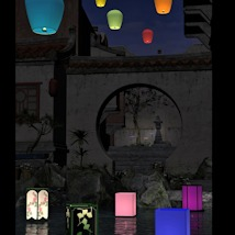 Floating Lanterns for DAZ Studio