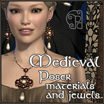 Pd-Medieval Poser Materials and Jewels