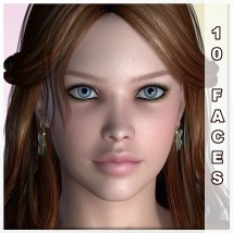AM:Everyday Faces - 10 Faces Merchant Resource