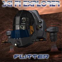 Scifi Explorer Flitter