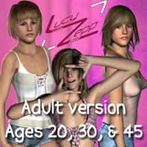 "Lucy Zepp ""Adult"" for V4, S4, Elite"
