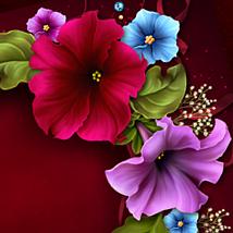 Moonbeam's Petunias...for my Granny