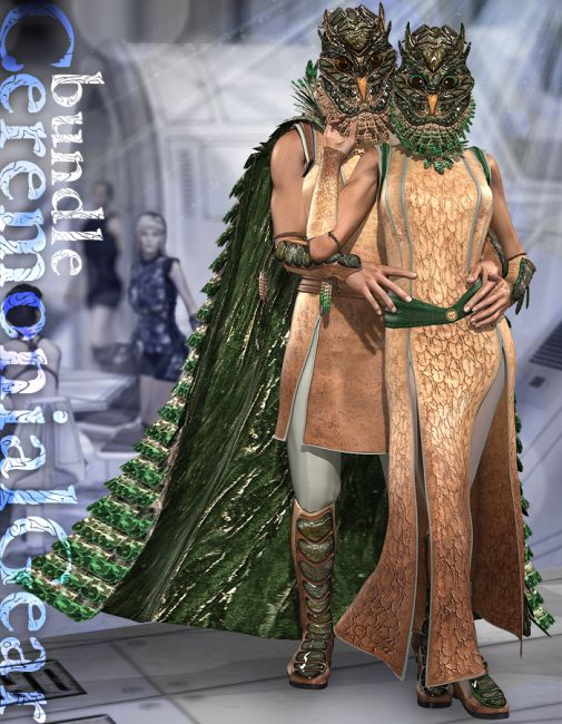 CeremonialGear bundle for Victoria 4 and Michael 4
