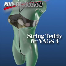V4 string teddy
