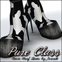 Pure Class for Fawn Hoof Shoes