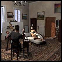Painters & artists atelier