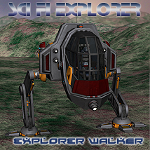 Scifi Explorer Walker