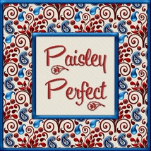 Paisley Perfect Seamless Transparent Overlays