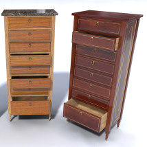 Furniture Set Two, Lingerie Chest