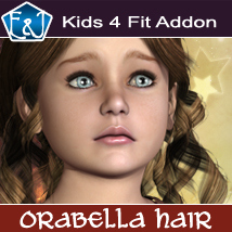 Kids4 Fit Addon For Orabella Hair