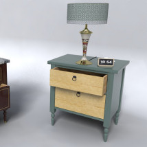 Furniture Set Two, Bed Side Table