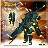 PA2 Assault Armor for Genesis