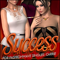 Success for FASHIONWAVE Singles: Carrie V4/A4/G4