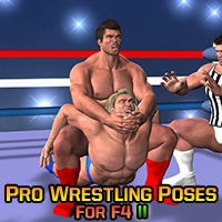 Pro Wrestling Poses for F4 II