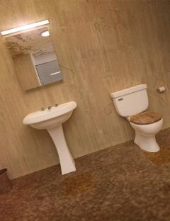 Motel Bathroom