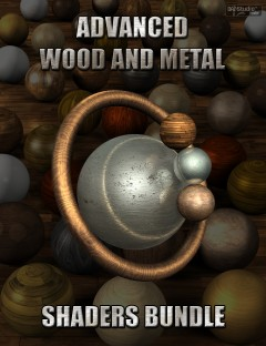 Advanced Wood And Metal Shaders Bundle