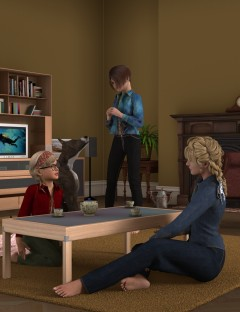 Everyday Wardrobe for Genesis 2 Female(s) Jeans and Shirt