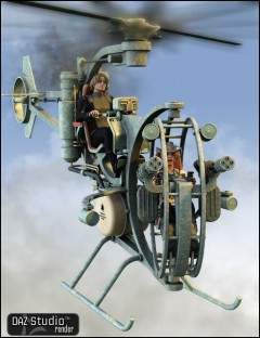 Steam Flying Machine 2