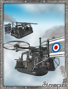 Steam Flying Machine